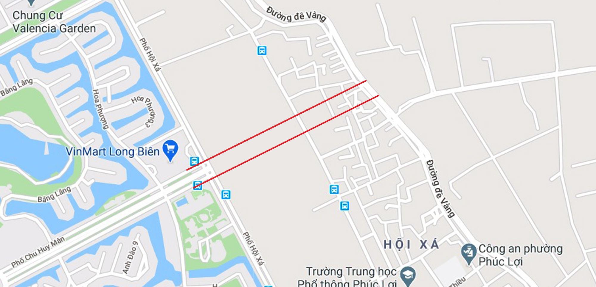 4 đường sẽ mở theo qui hoạch ở phường Phúc Lợi, Long Biên, Hà Nội - Ảnh 2.