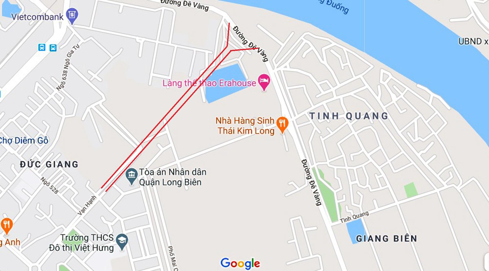 đường sẽ mở theo qui hoạch ở phường Giang Biên, Long Biên, Hà Nội - Ảnh 5.