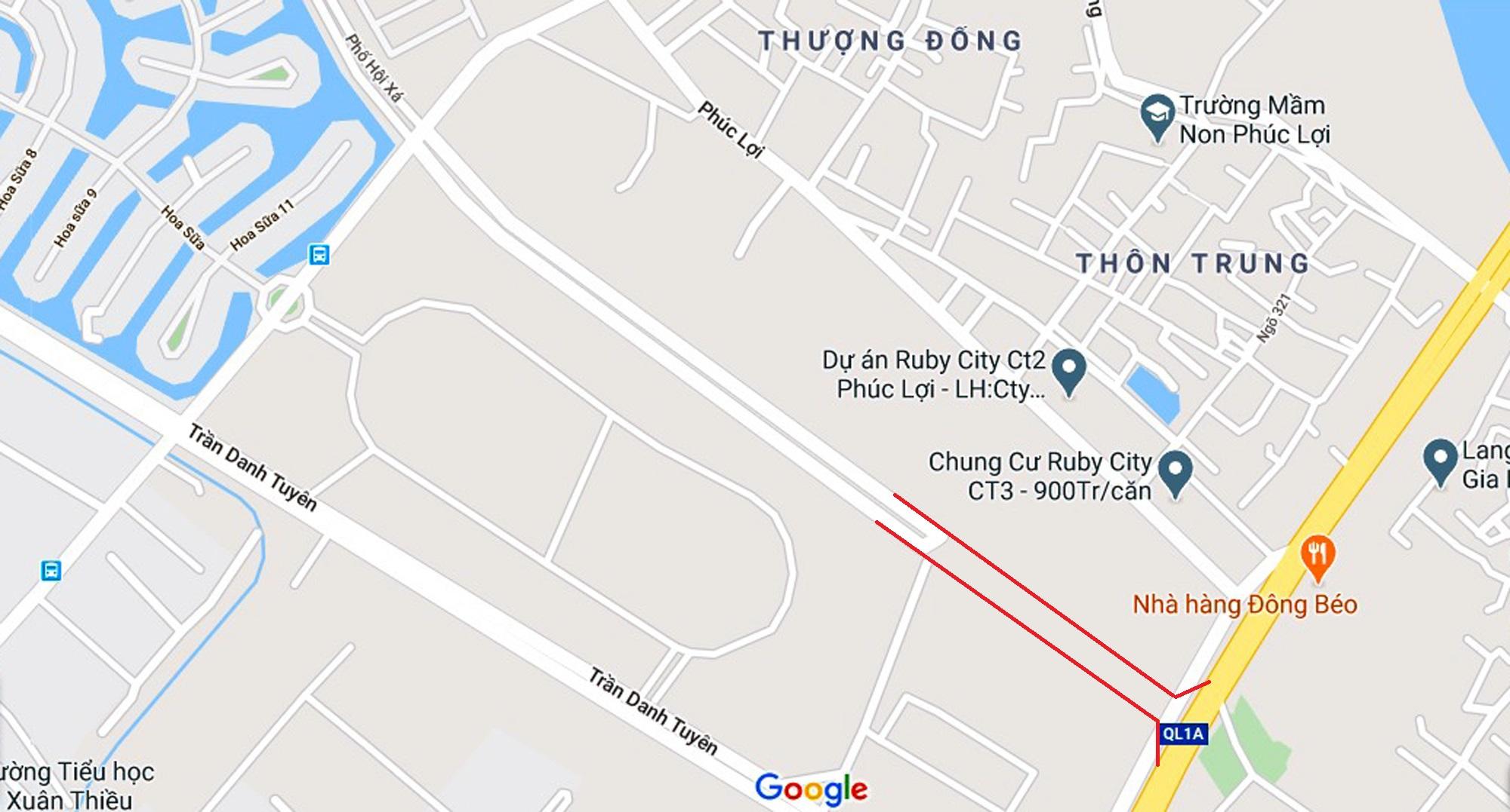 4 đường sẽ mở theo qui hoạch ở phường Phúc Lợi, Long Biên, Hà Nội - Ảnh 6.