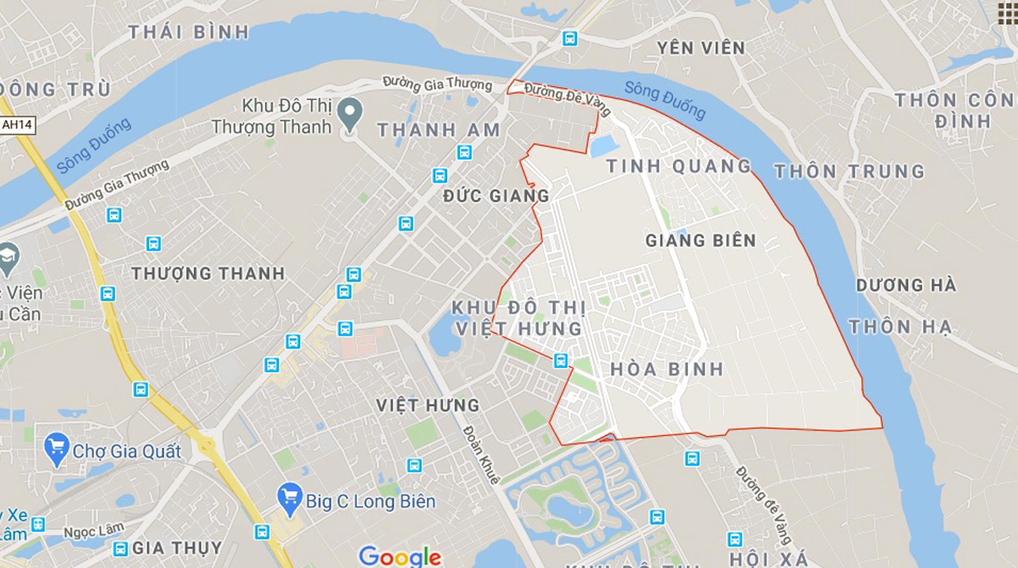 đường sẽ mở theo qui hoạch ở phường Giang Biên, Long Biên, Hà Nội - Ảnh 1.