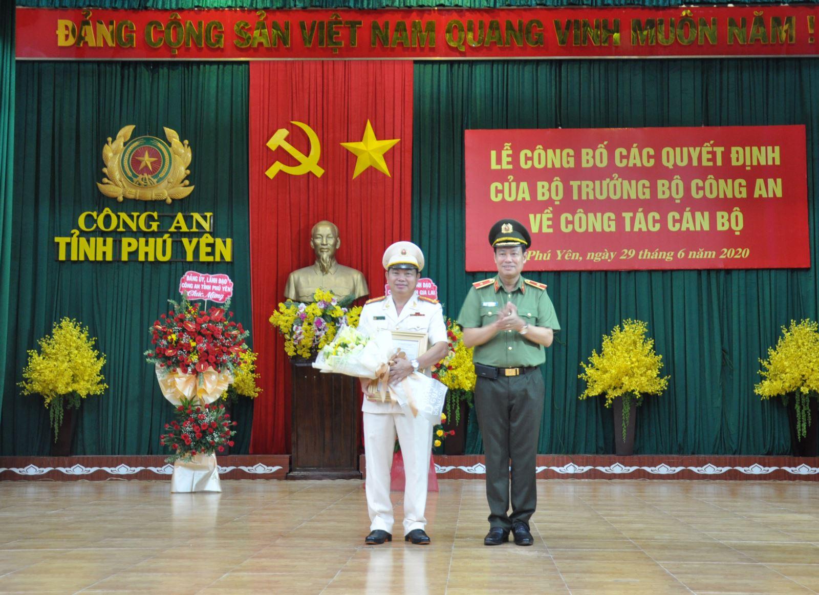 Ông Pham Thanh Tám được bổ nhiệm làm Giám đốc Công an tỉnh Phú Yên - Ảnh 1.
