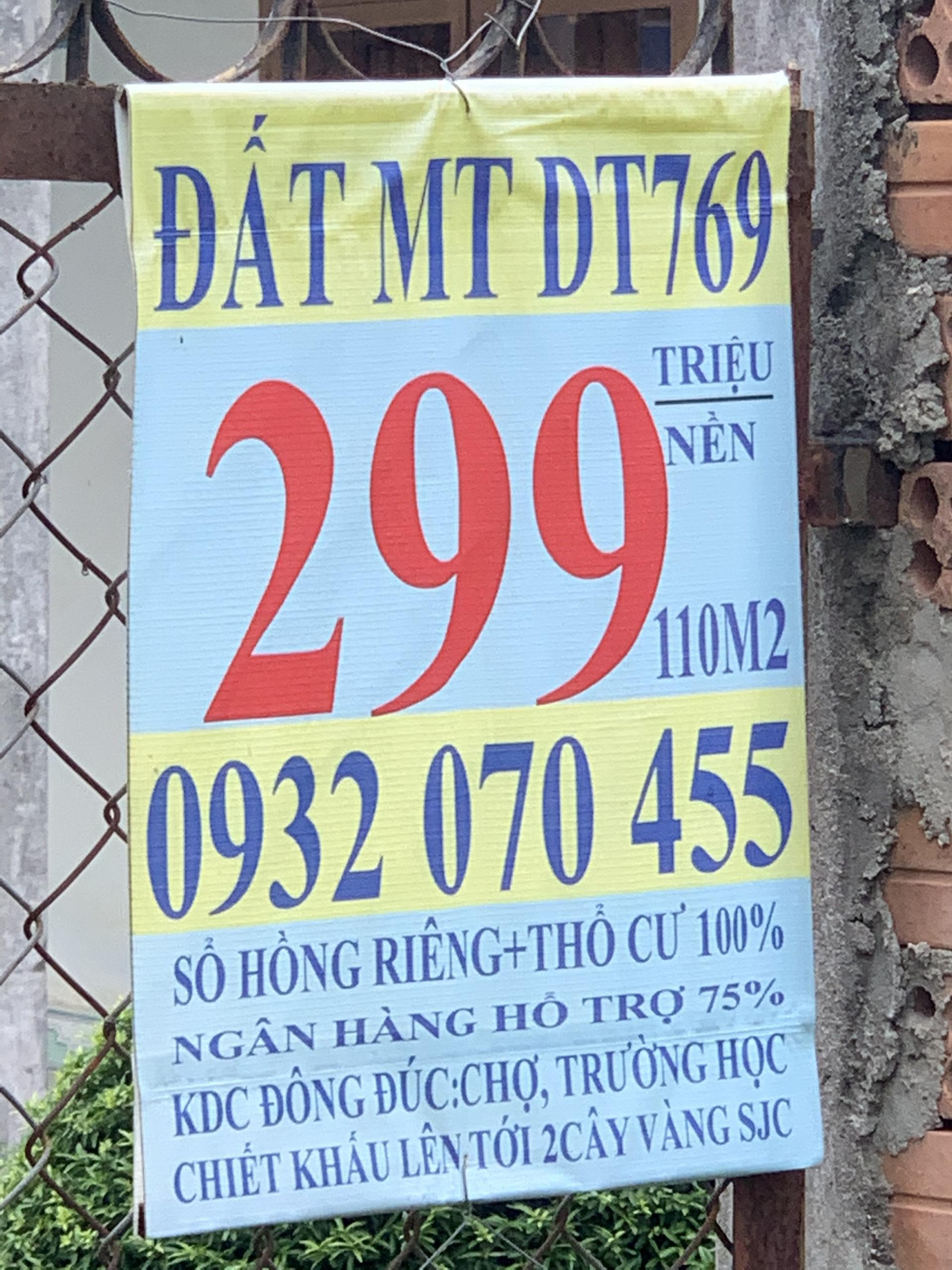 Sân bay chưa làm, giá đất Long Thành đã tăng chóng mặt - Ảnh 1.