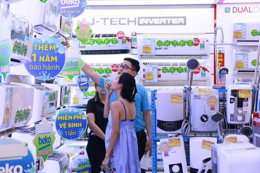 Dẫn đầu chưa đủ, Điện Máy Xanh tham vọng thống lĩnh 70% thị trường - Ảnh 1.