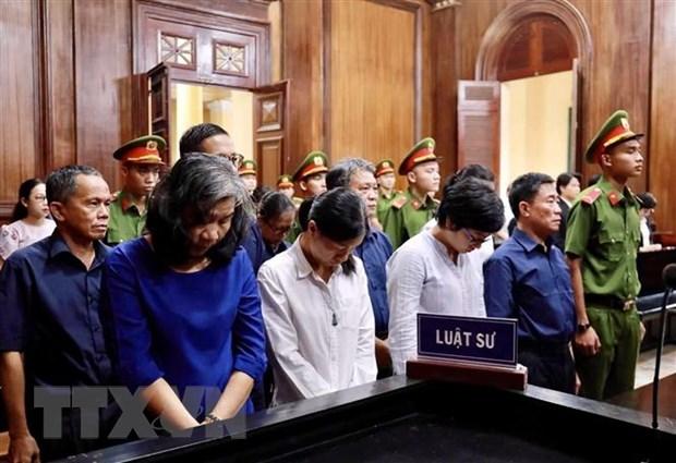 Tạm hoãn phiên tòa xét xử phúc thẩm vụ án tại Ngân hàng Đại Tín - Ảnh 1.