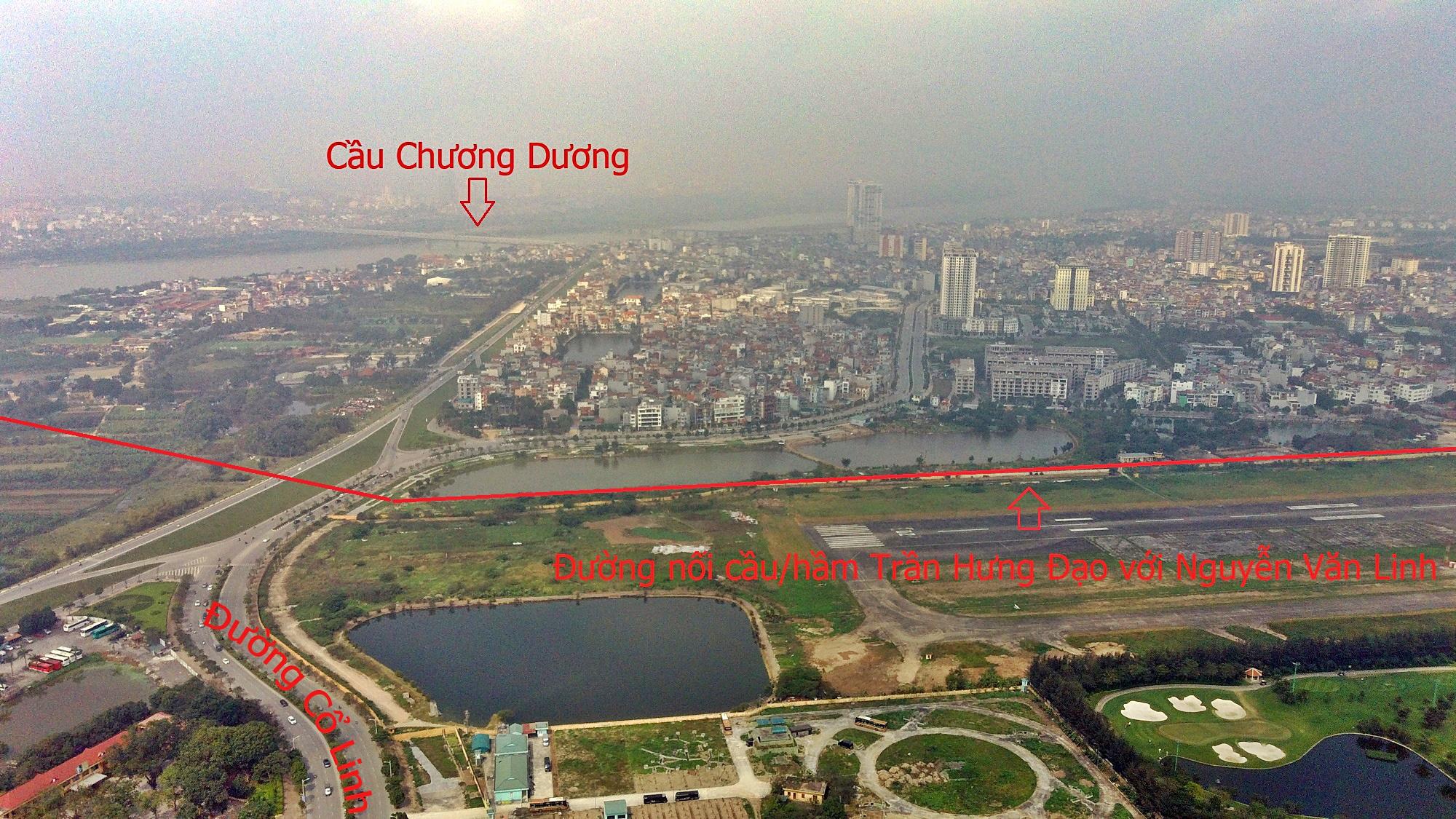 Cầu sẽ mở theo qui hoạch ở Hà Nội: Toàn cảnh cầu/hầm Trần Hưng Đạo nối quận Hoàn Kiếm - Long Biên - Ảnh 13.