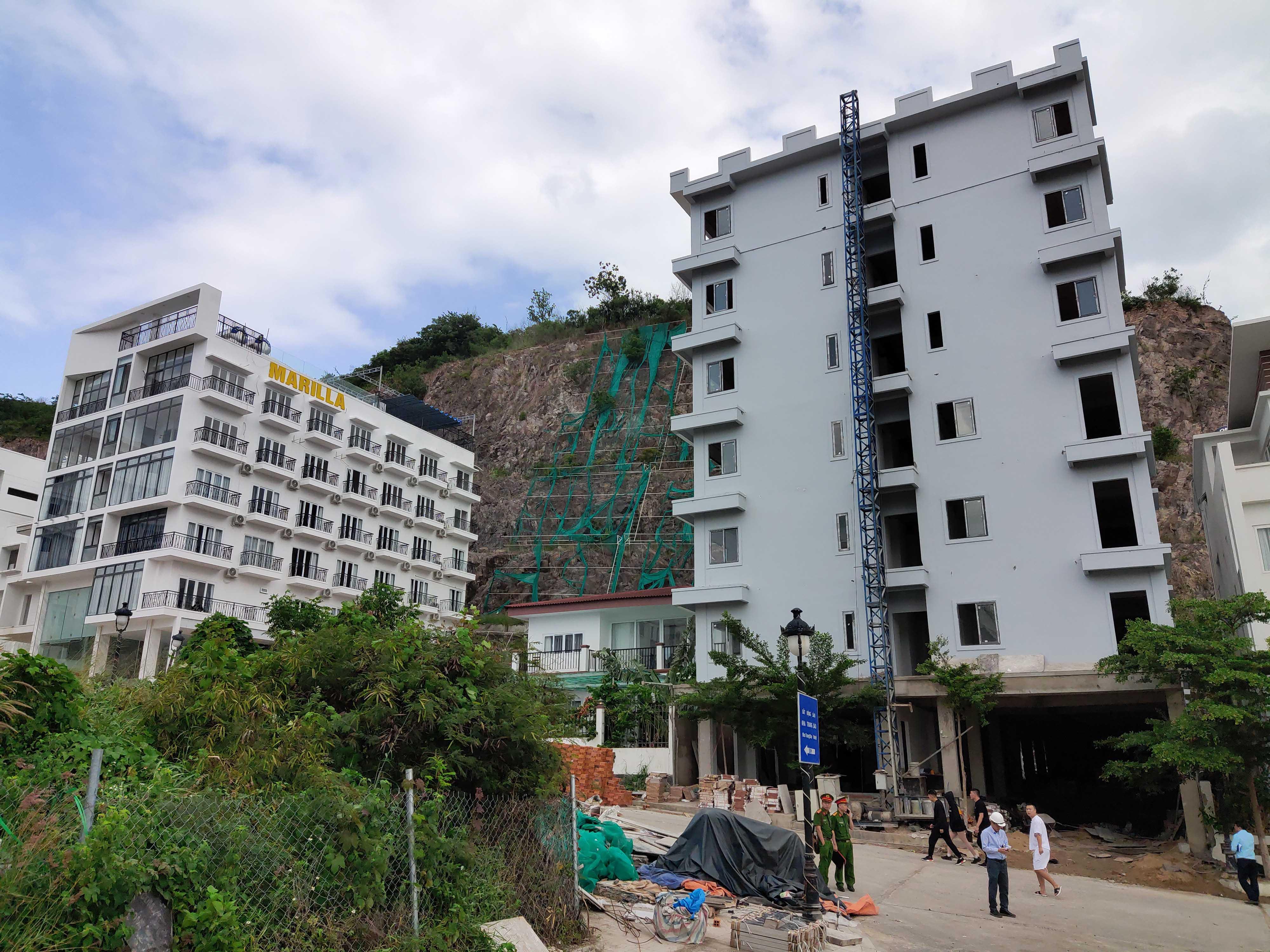 Cận cảnh dự án Ocean View ung dung hoàn thành các căn biệt thự bất chấp lệnh cưỡng chế - Ảnh 3.