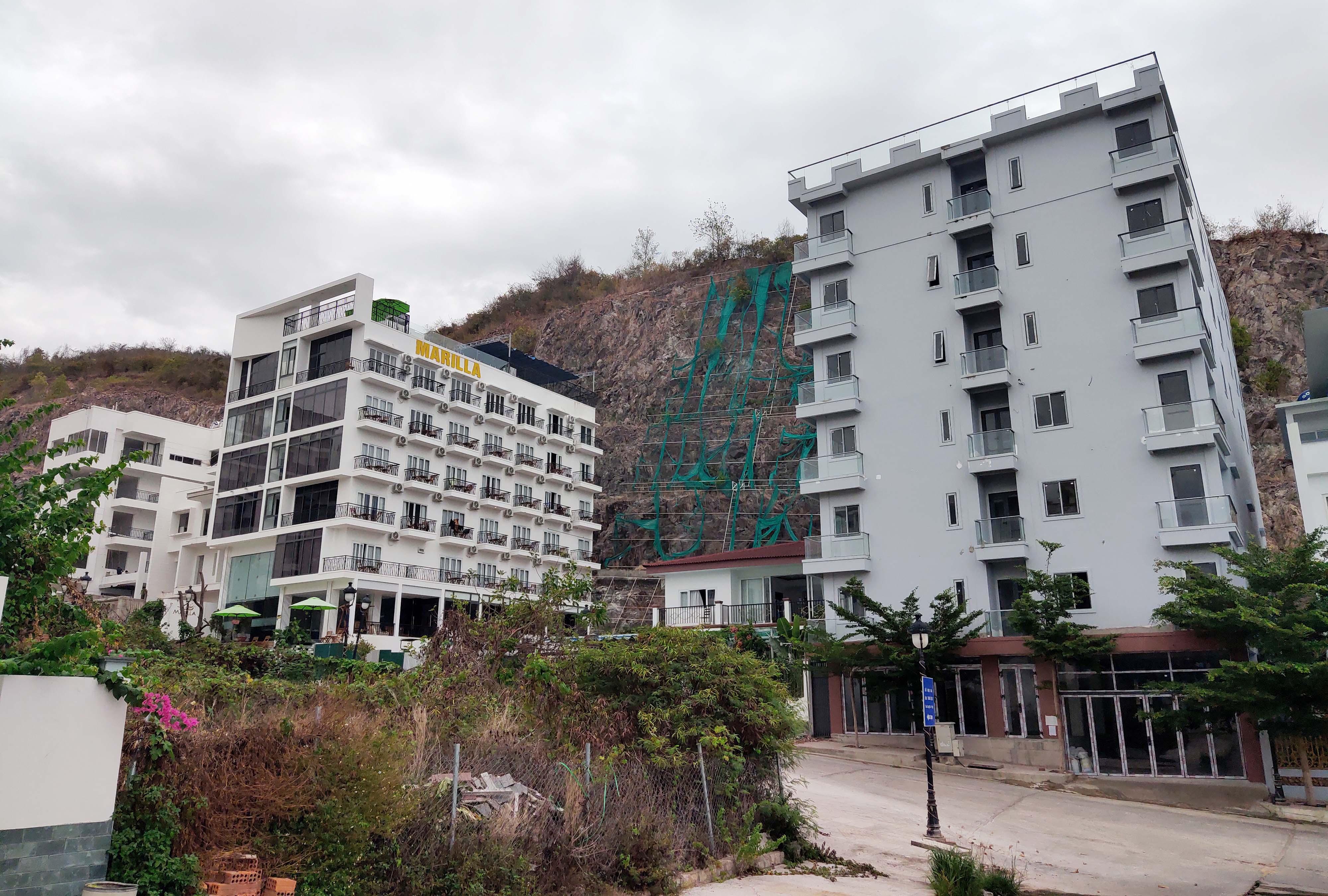 Cận cảnh dự án Ocean View ung dung hoàn thành các căn biệt thự bất chấp lệnh cưỡng chế  - Ảnh 4.