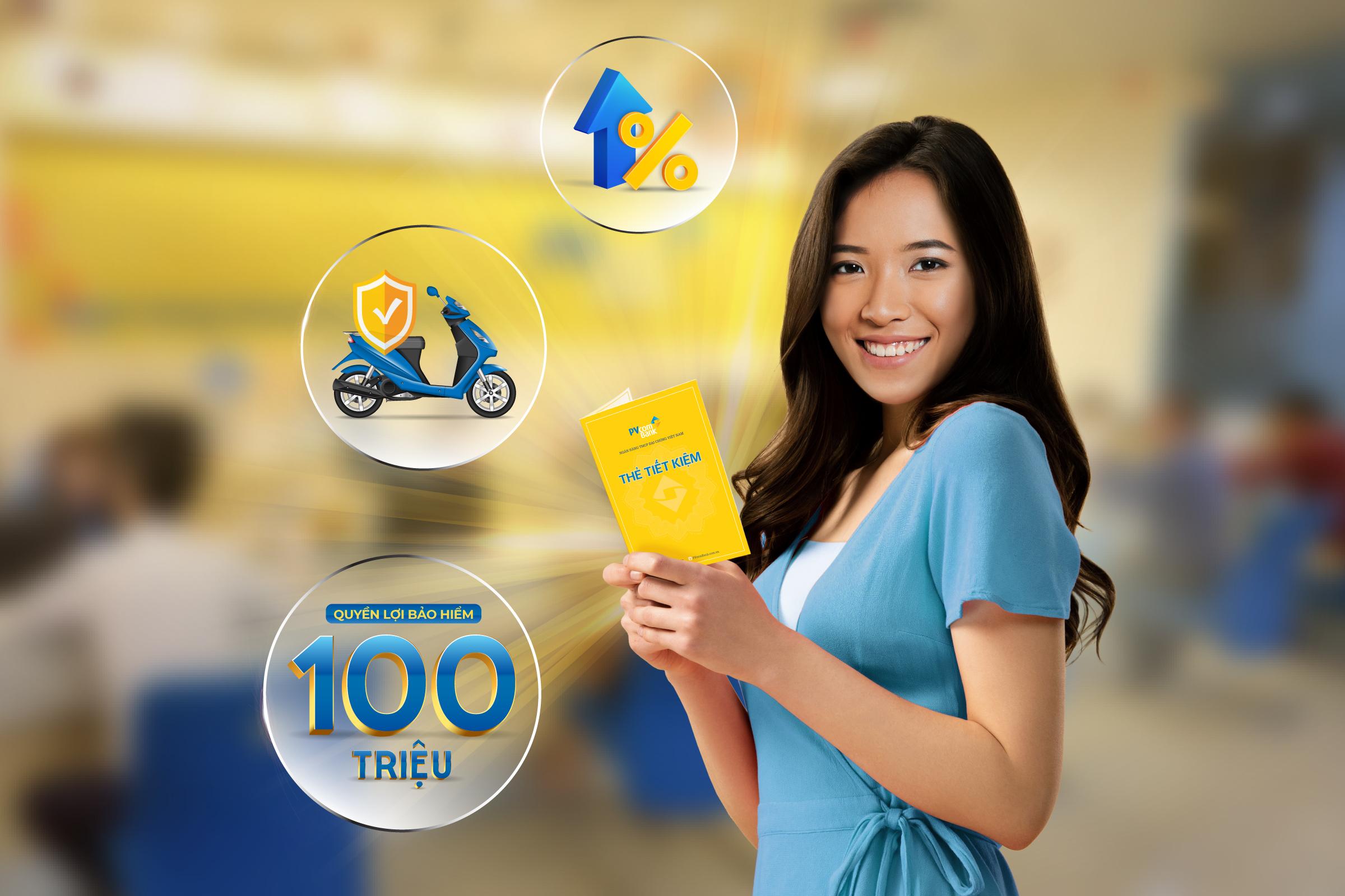 Gửi tiền lãi cao, nhận thêm quà chất tại PVcomBank - Ảnh 1.