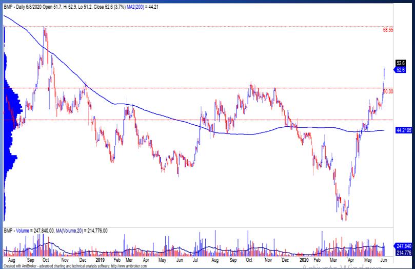 Cổ phiếu tâm điểm ngày 10/6: CVT, BMP, VJC, VTK, PVB - Ảnh 2.