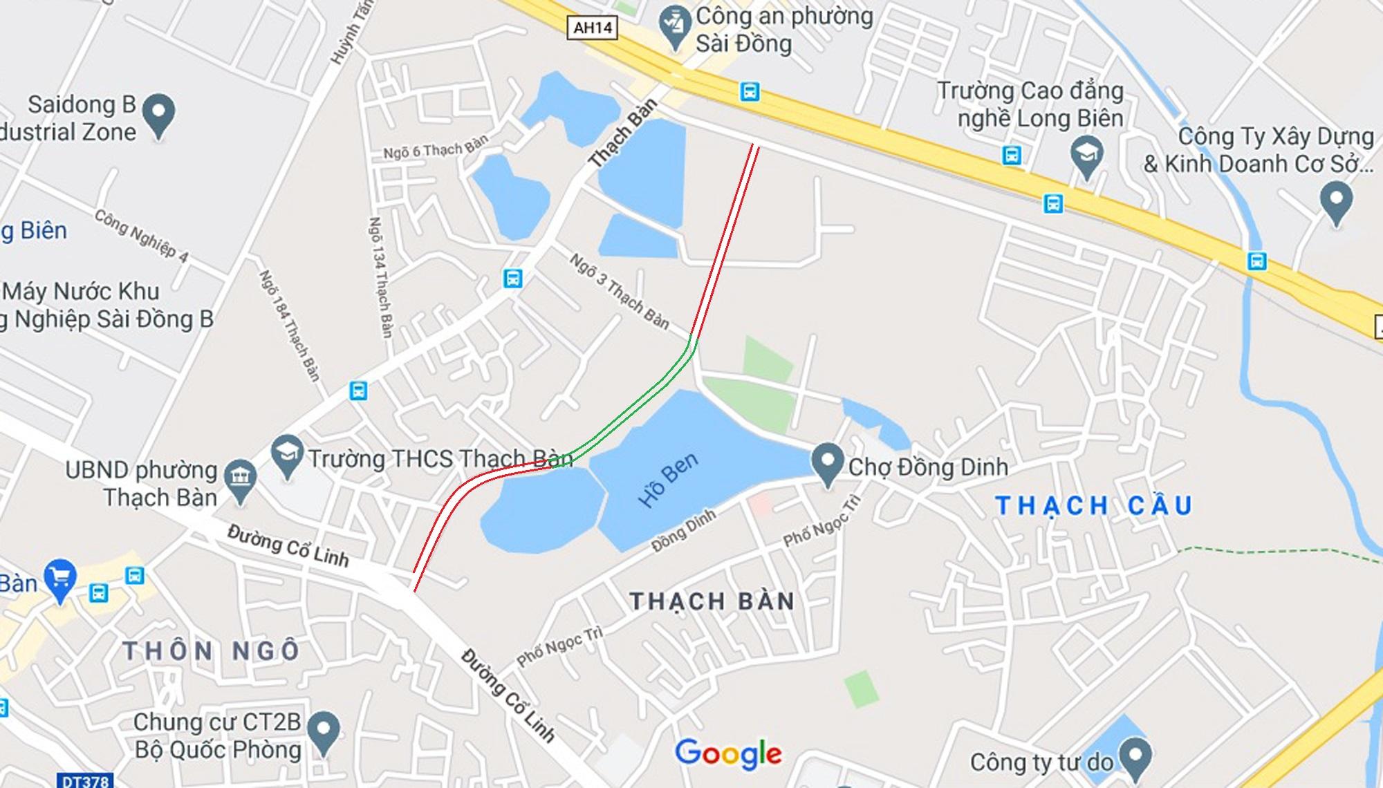 đường sẽ mở theo qui hoạch ở phường Thạch Bàn, Long Biên, Hà Nội - Ảnh 2.