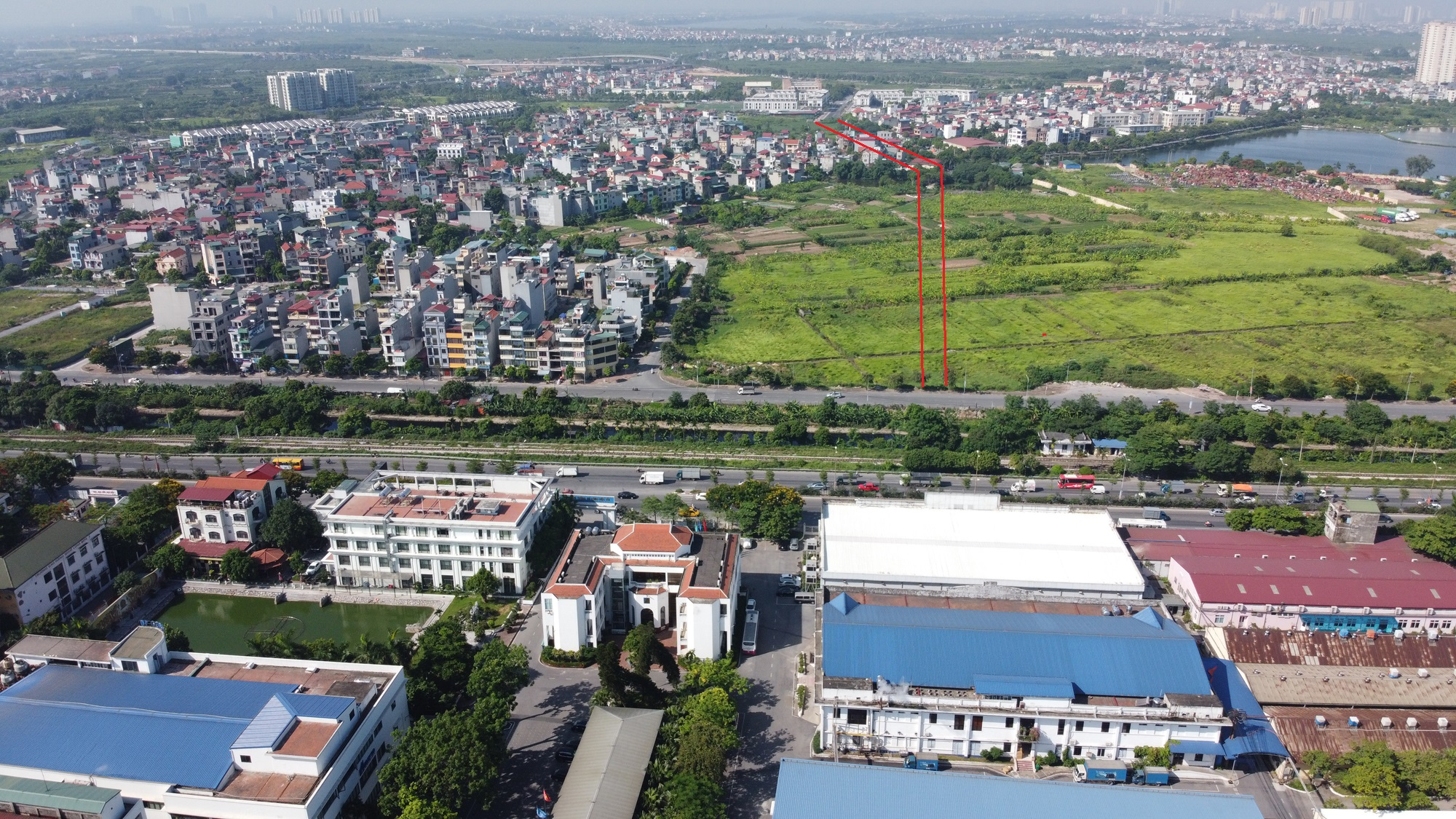 đường sẽ mở theo qui hoạch ở phường Thạch Bàn, Long Biên, Hà Nội - Ảnh 8.