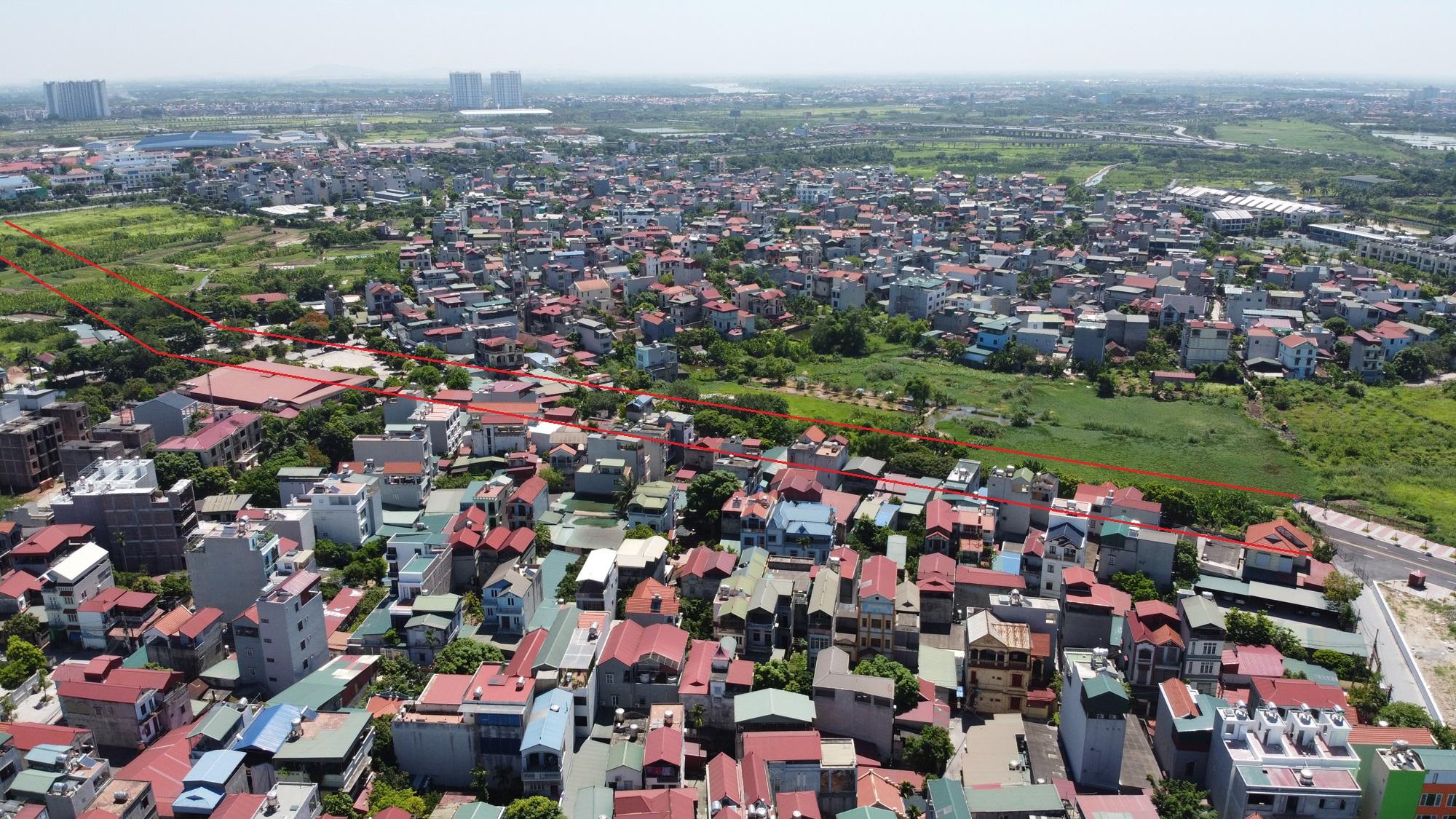 đường sẽ mở theo qui hoạch ở phường Thạch Bàn, Long Biên, Hà Nội - Ảnh 9.