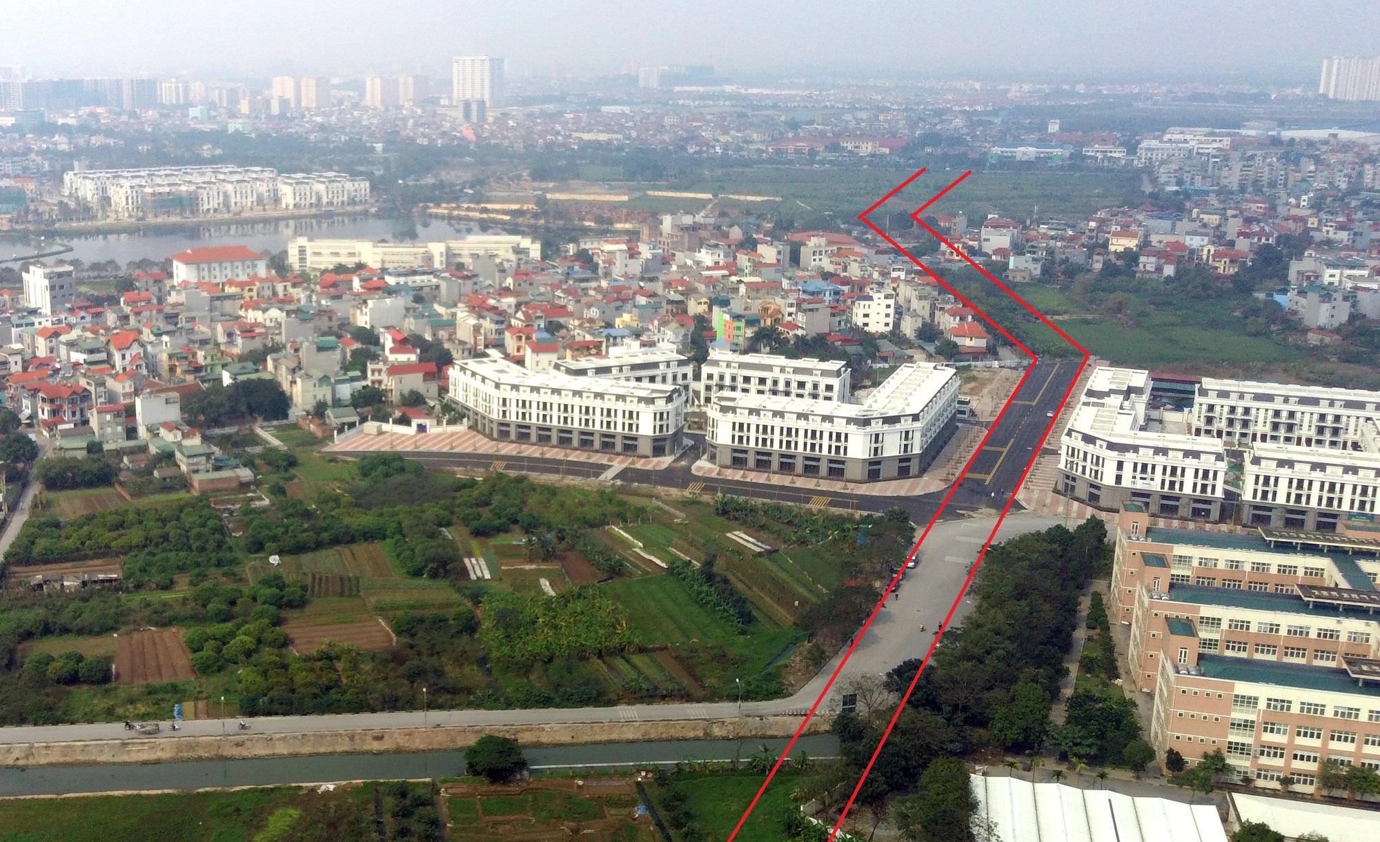 đường sẽ mở theo qui hoạch ở phường Thạch Bàn, Long Biên, Hà Nội - Ảnh 12.