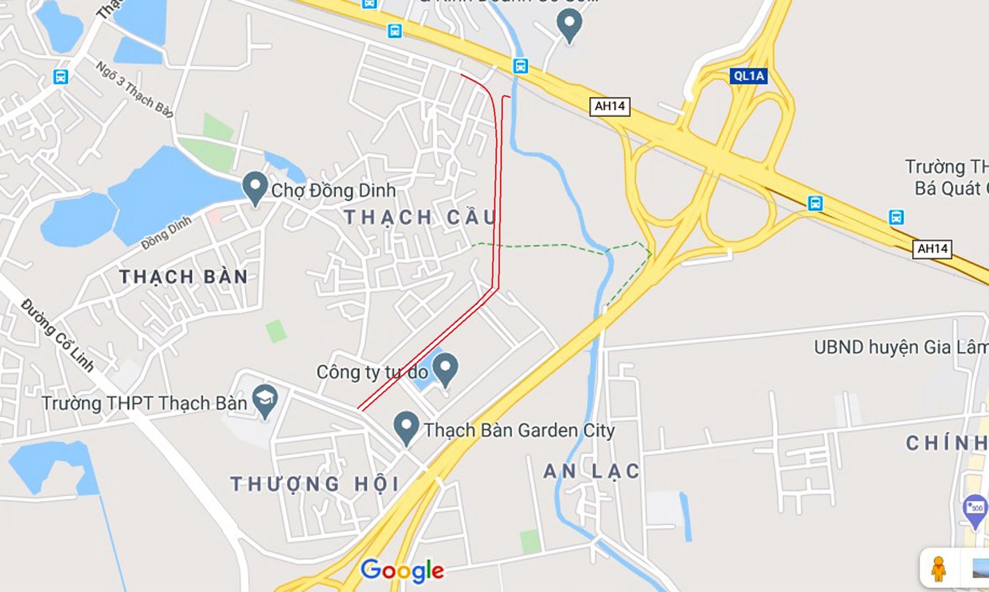 đường sẽ mở theo qui hoạch ở phường Thạch Bàn, Long Biên, Hà Nội - Ảnh 17.