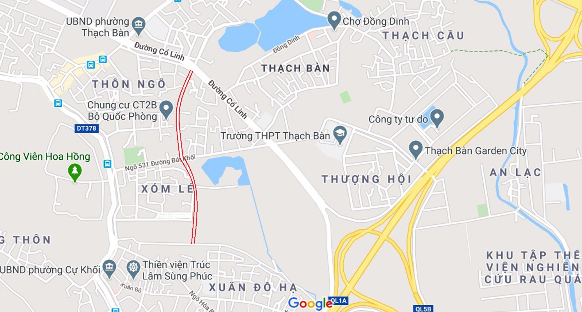 5 đường sẽ mở theo qui hoạch ở phường Thạch Bàn, Long Biên, Hà Nội - Ảnh 21.