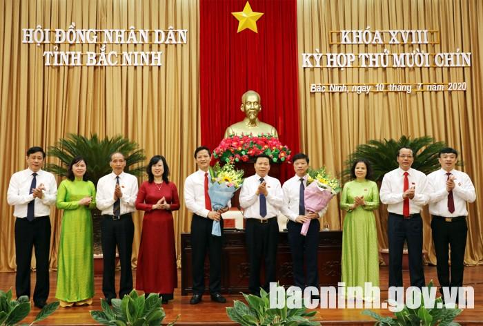 Bắc Ninh có 2 tân Phó Chủ tịch UBND tỉnh - Ảnh 1.