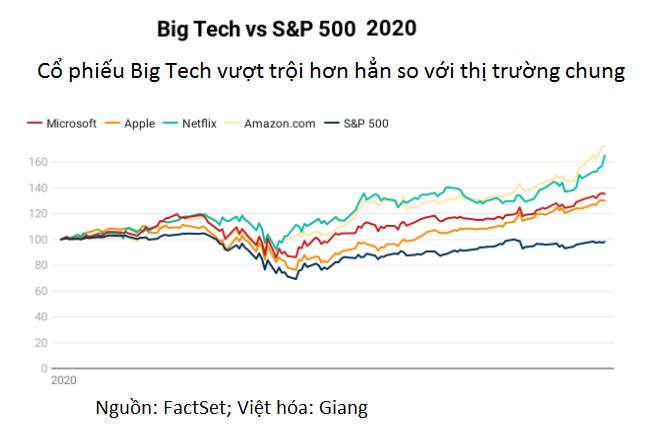 Cổ phiếu công nghệ trở thành hầm trú ẩn thời COVID-19 - Ảnh 2.