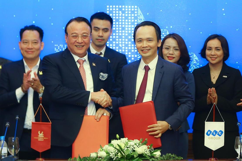 Tập đoàn FLC và Tân Hoàng Minh kí kết hợp tác chiến lược