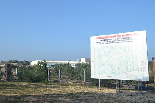 Quảng Nam thu hồi dự án Khu nghỉ dưỡng An Thịnh-PPC