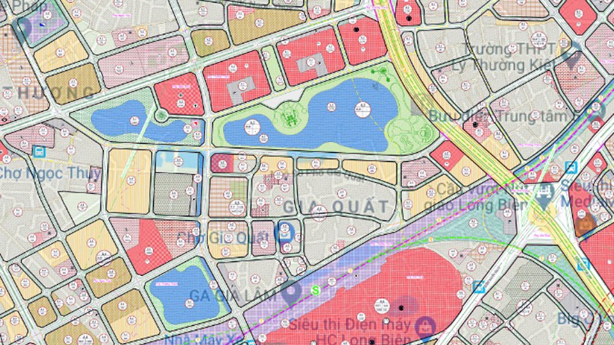 Những mảnh đất sẽ được đào hồ lớn ở quận Long Biên - Ảnh 4.