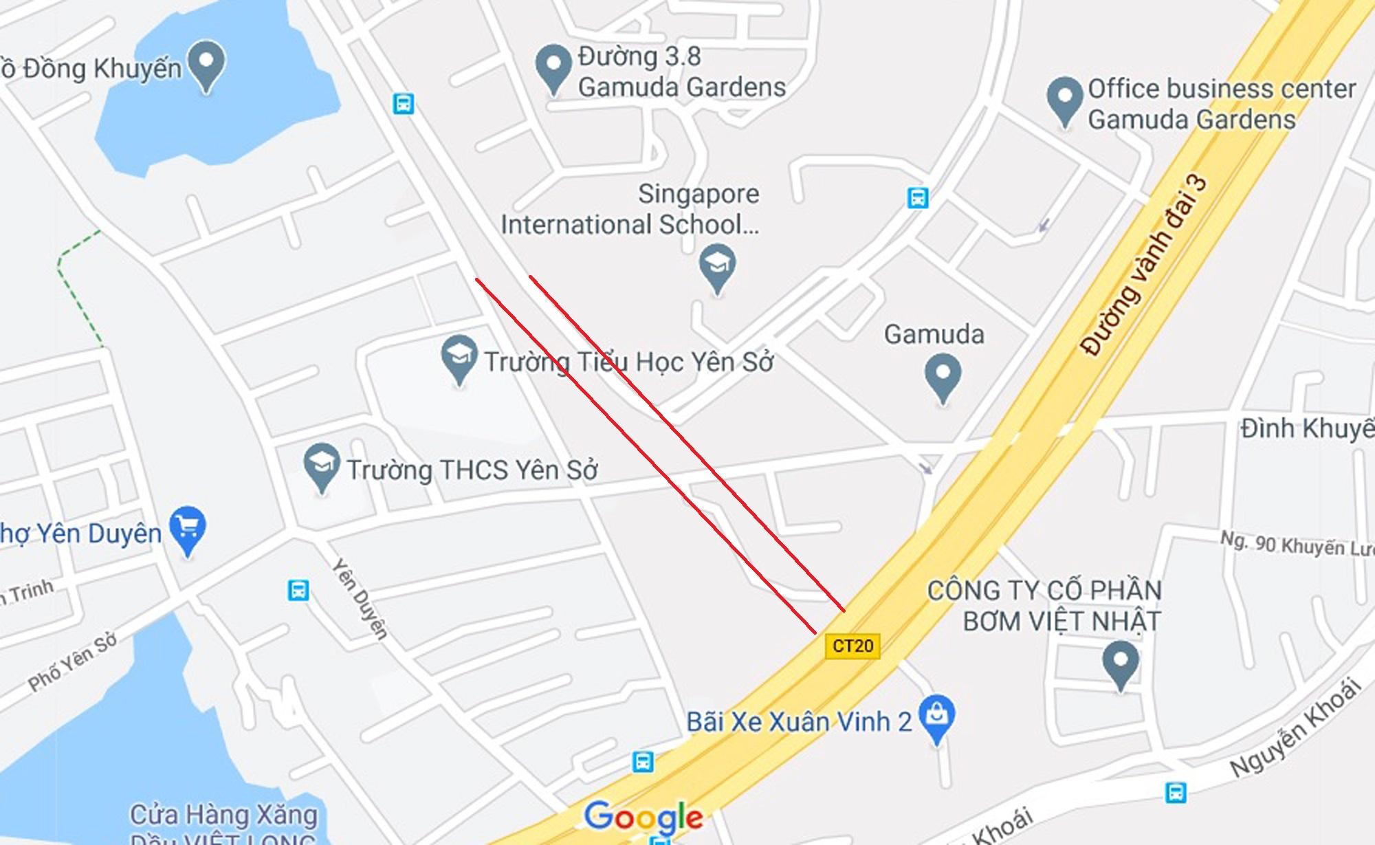 Ba đường sẽ mở theo qui hoạch ở phường Trần Phú, Hoàng Mai, Hà Nội - Ảnh 11.
