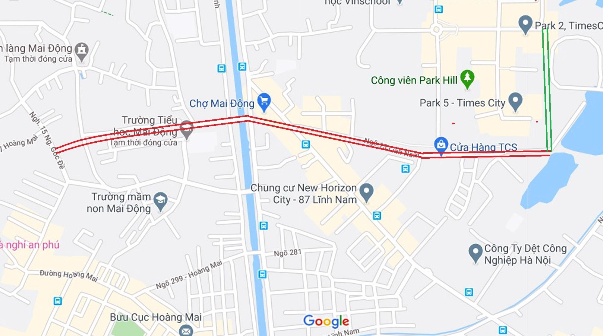 Ba đường sẽ mở theo qui hoạch ở phường Mai Động, Hoàng Mai, Hà Nội - Ảnh 7.