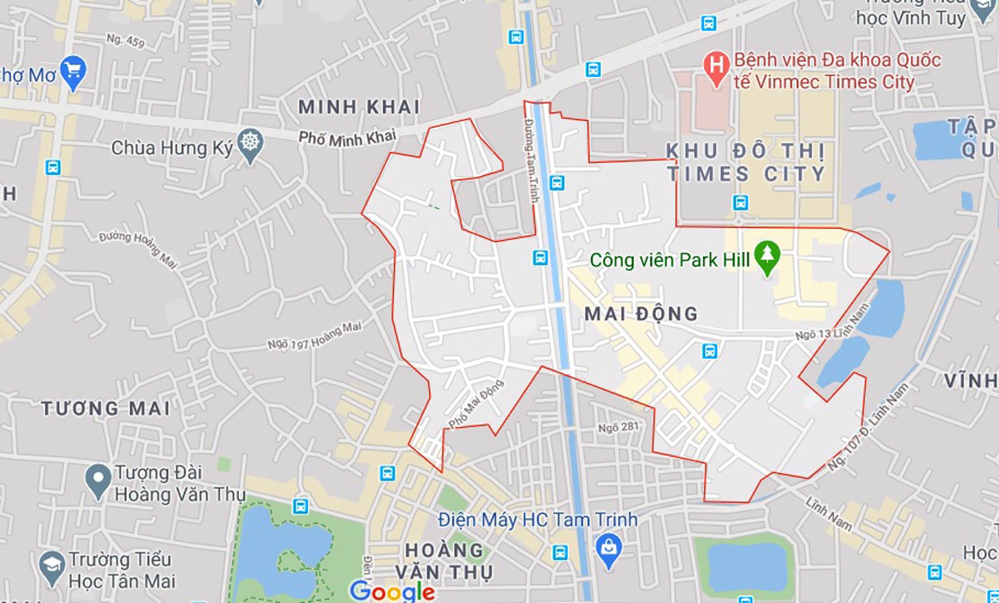 Ba đường sẽ mở theo qui hoạch ở phường Mai Động, Hoàng Mai, Hà Nội - Ảnh 1.