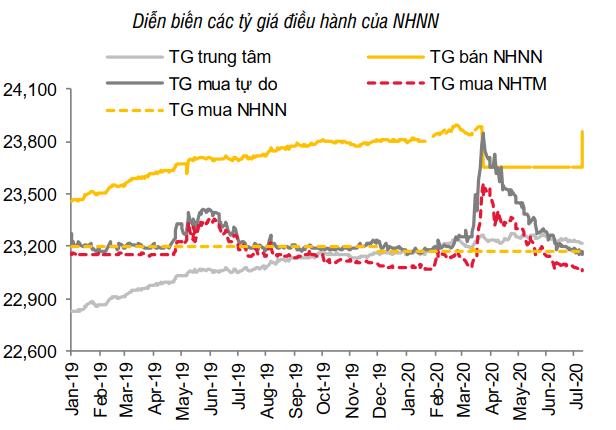 Thấy gì từ động thái tăng mạnh giá mua USD của NHNN? - Ảnh 2.