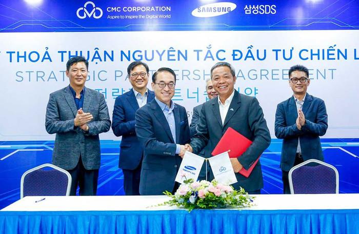 Sau bắt tay với Samsung, CMC báo đạt doanh thu hơn 5.000 tỉ đồng, đặt mục tiêu quy mô 1 tỉ USD vào năm 2023 - Ảnh 1.