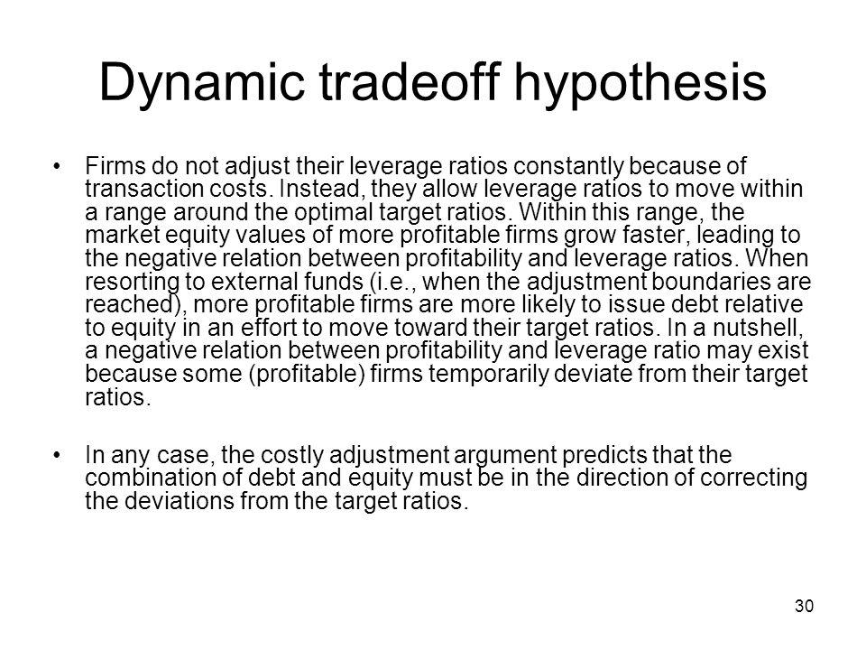 Lí thuyết đánh đổi động (Dynamic Trade-off Theory) là gì? - Ảnh 1.