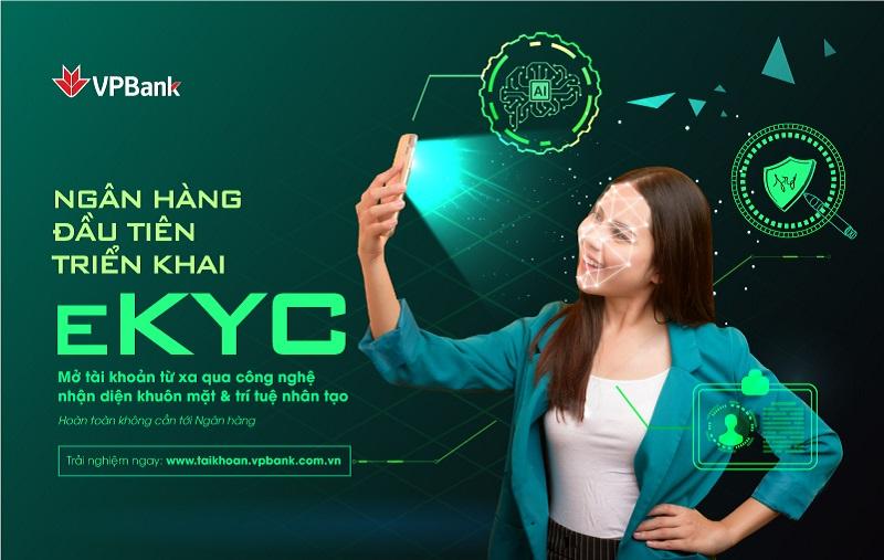 VPBank là ngân hàng đầu tiên triển khai eKYC - định danh khách hàng trực tuyến - Ảnh 1.