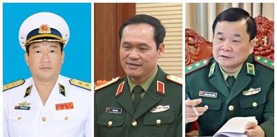 Thủ tướng bổ nhiệm thêm ba Thứ trưởng Bộ Quốc phòng - Ảnh 1.