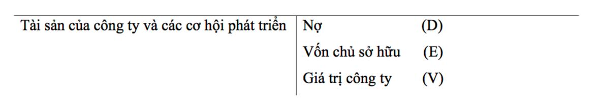 Lí thuyết của Modigliani và Miller (Modigliani-Miller theorem - M&M) là gì? - Ảnh 2.