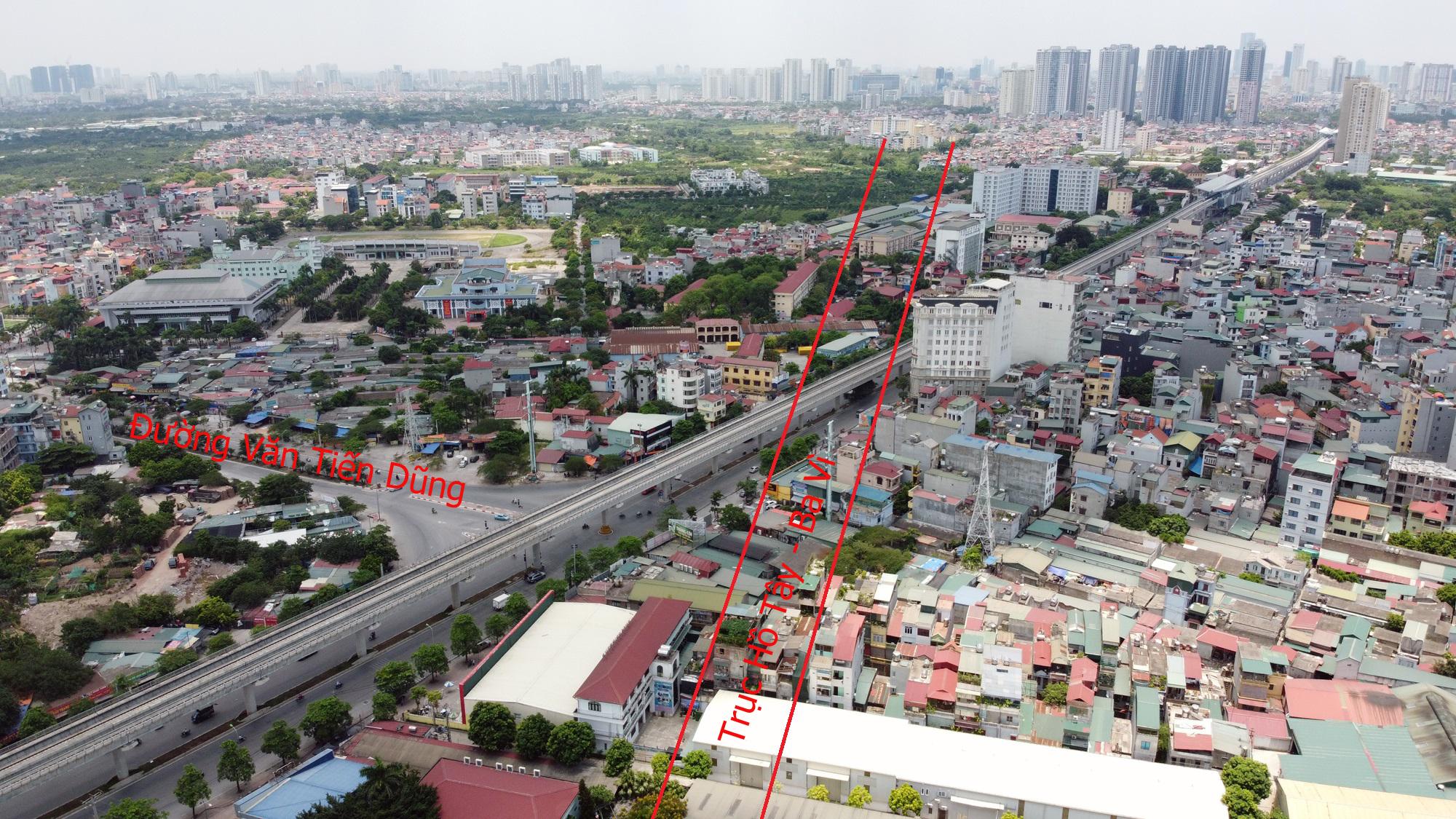 Đường sẽ mở theo qui hoạch ở Hà Nội: Toàn cảnh trục Hồ Tây - Ba Vì đến Vành đai 4 - Ảnh 18.
