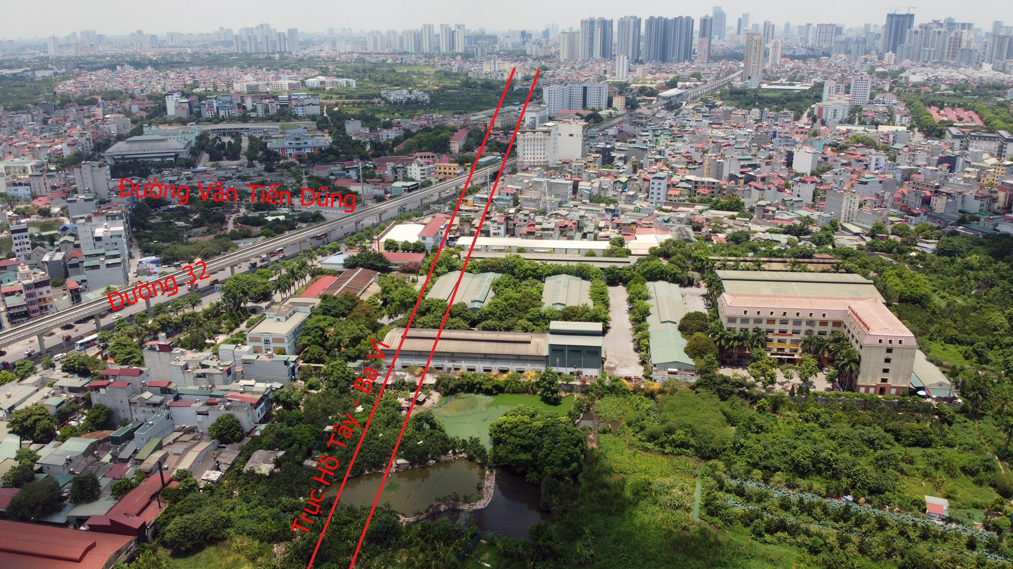 Đường sẽ mở theo qui hoạch ở Hà Nội: Toàn cảnh trục Hồ Tây - Ba Vì đến Vành đai 4 - Ảnh 19.