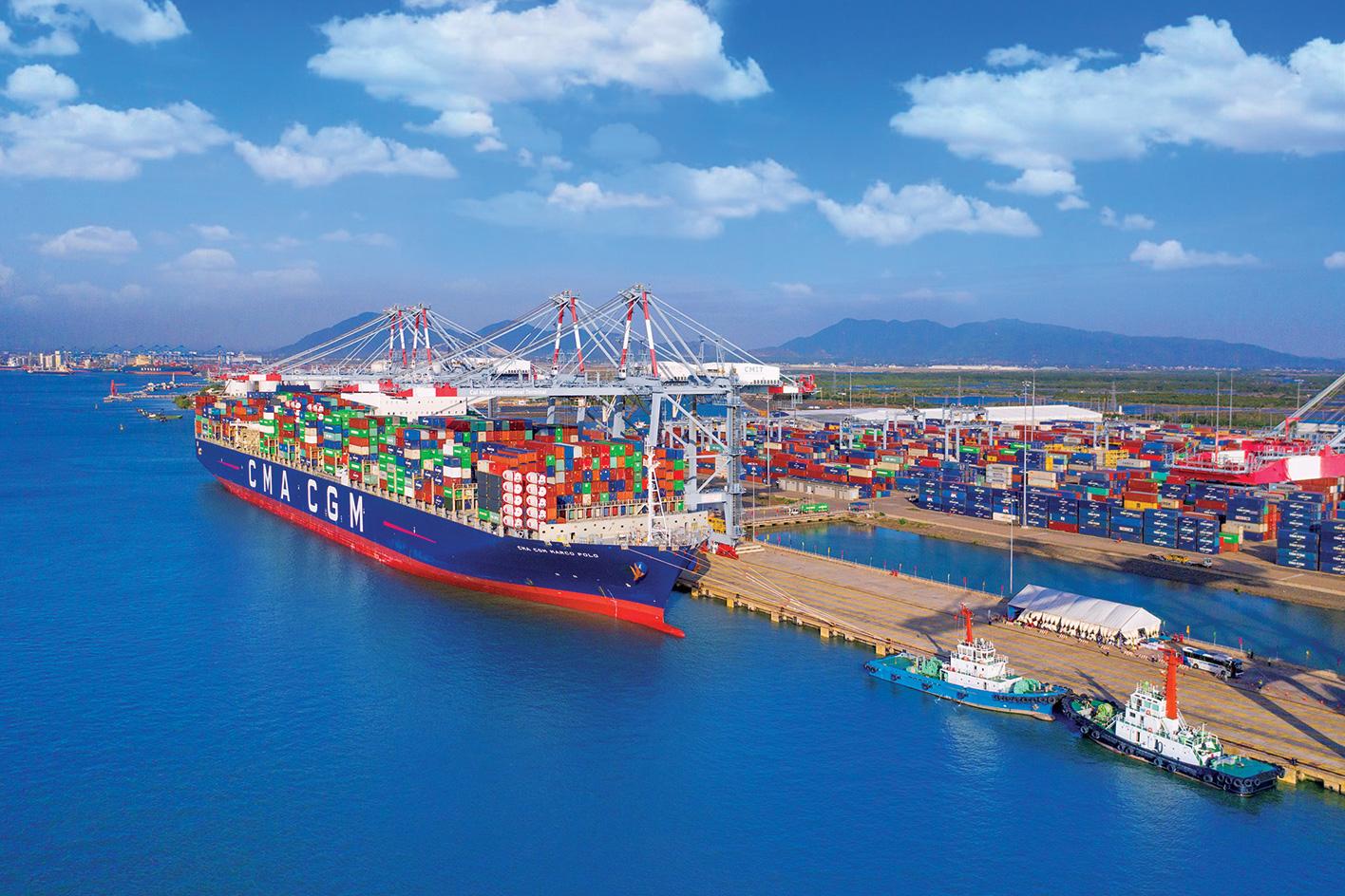 Qui hoạch hơn 1.760 ha cho Trung tâm logistics Cái Mép Hạ