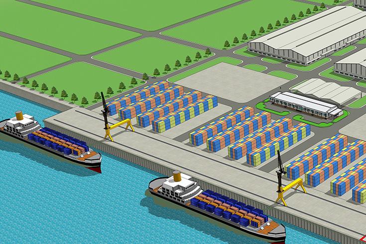 Quảng Nam: Đấu thầu lập qui hoạch Khu phi thuế quan gắn với Khu bến cảng Tam Hòa 747 ha