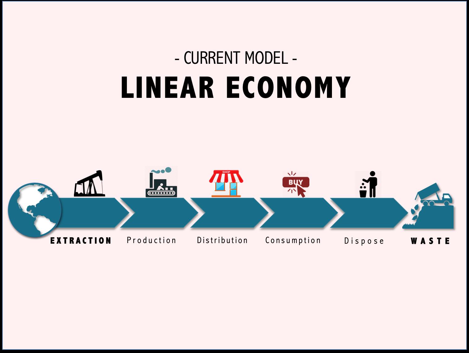 Kinh tế tuyến tính (Linear Economy) là gì? Hậu quả - Ảnh 1.