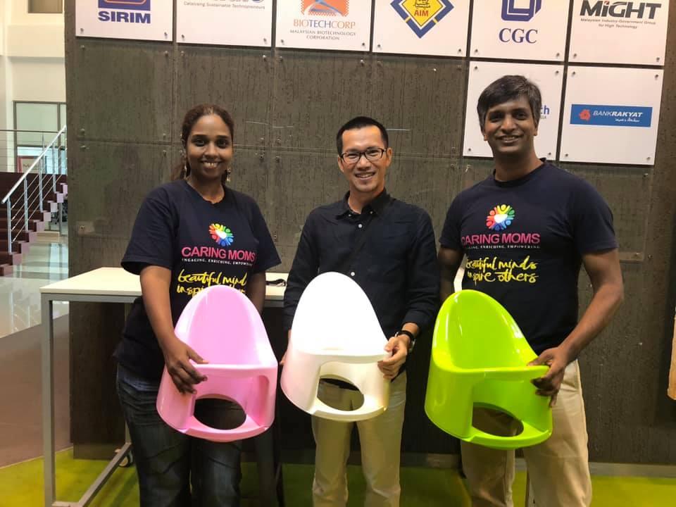 Startup bô rửa đa năng Boom Potty: Đã vượt qua điểm hòa vốn, mục tiêu số 1 thị trường Việt Nam trong tương lai - Ảnh 1.