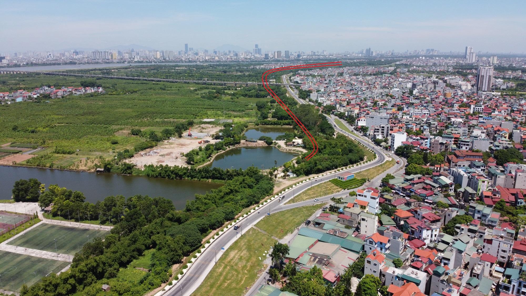 đường sẽ mở theo qui hoạch ở phường Long Biên, quận Long Biên, Hà Nội - Ảnh 3.