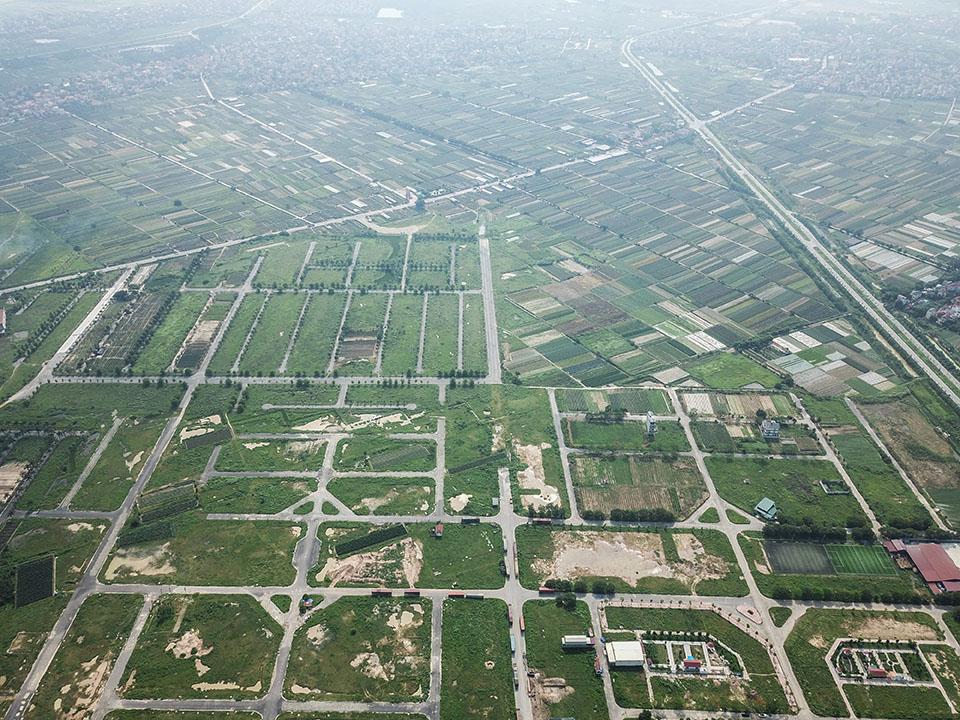 Sau điều chỉnh, một số ô đất công cộng ở huyện Mê Linh có thể xây nhà ở - Ảnh 1.