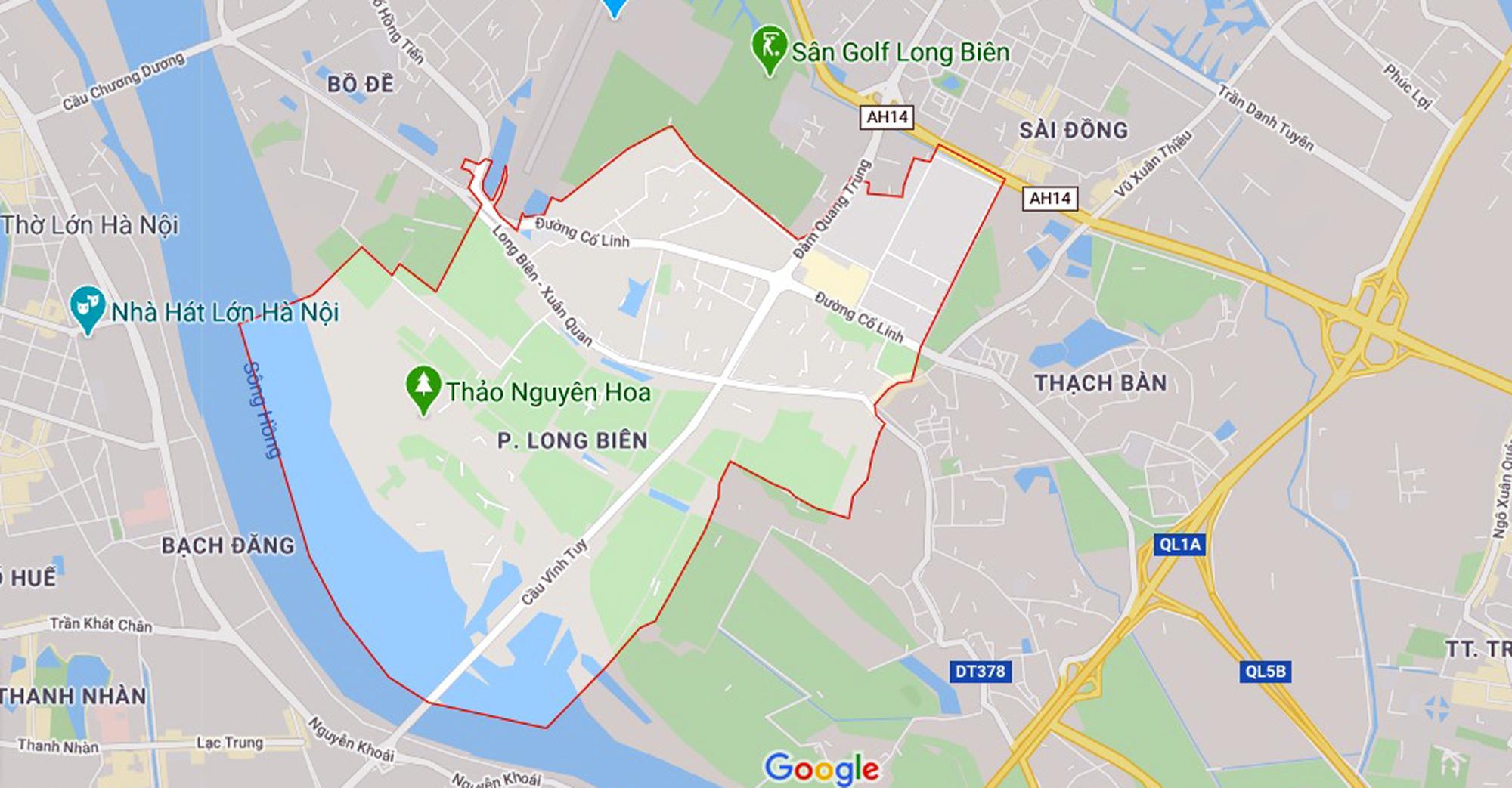 đường sẽ mở theo qui hoạch ở phường Long Biên, quận Long Biên, Hà Nội - Ảnh 1.
