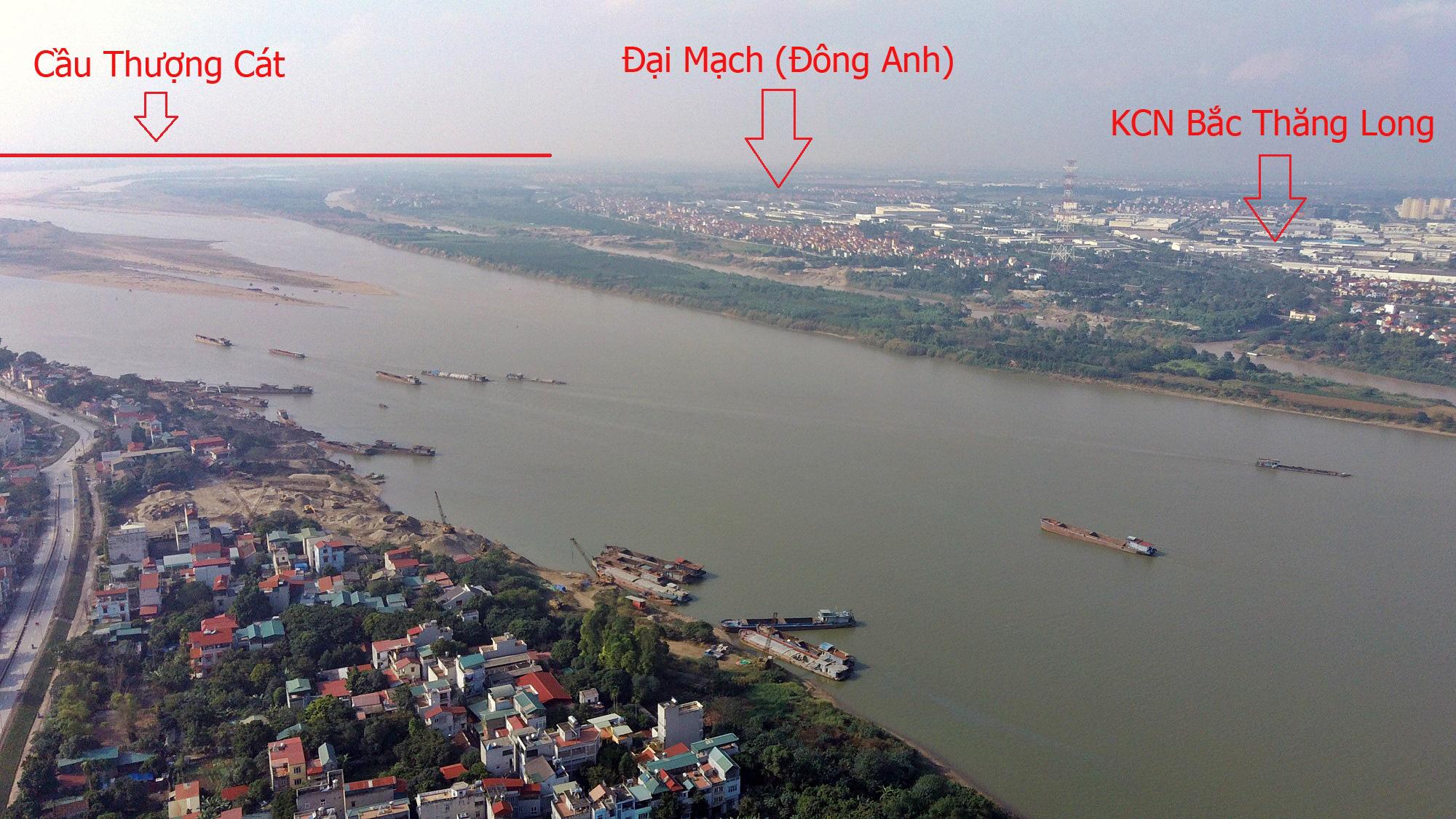 Cầu sẽ mở theo qui hoạch ở Hà Nội: Toàn cảnh cầu Thượng Cát nối Bắc Từ Liêm với Đông Anh - Ảnh 16.