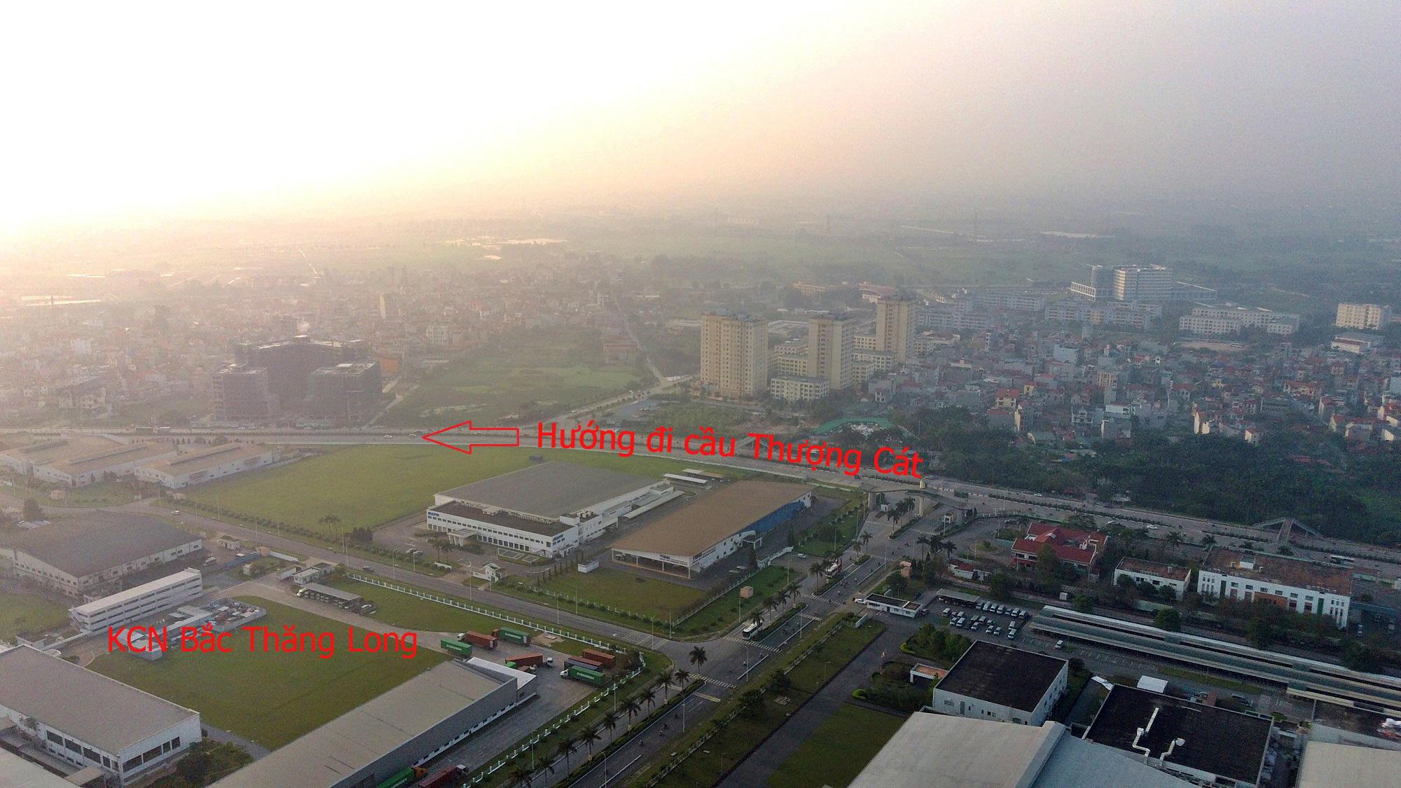 Cầu sẽ mở theo qui hoạch ở Hà Nội: Toàn cảnh cầu Thượng Cát nối Bắc Từ Liêm với Đông Anh - Ảnh 18.