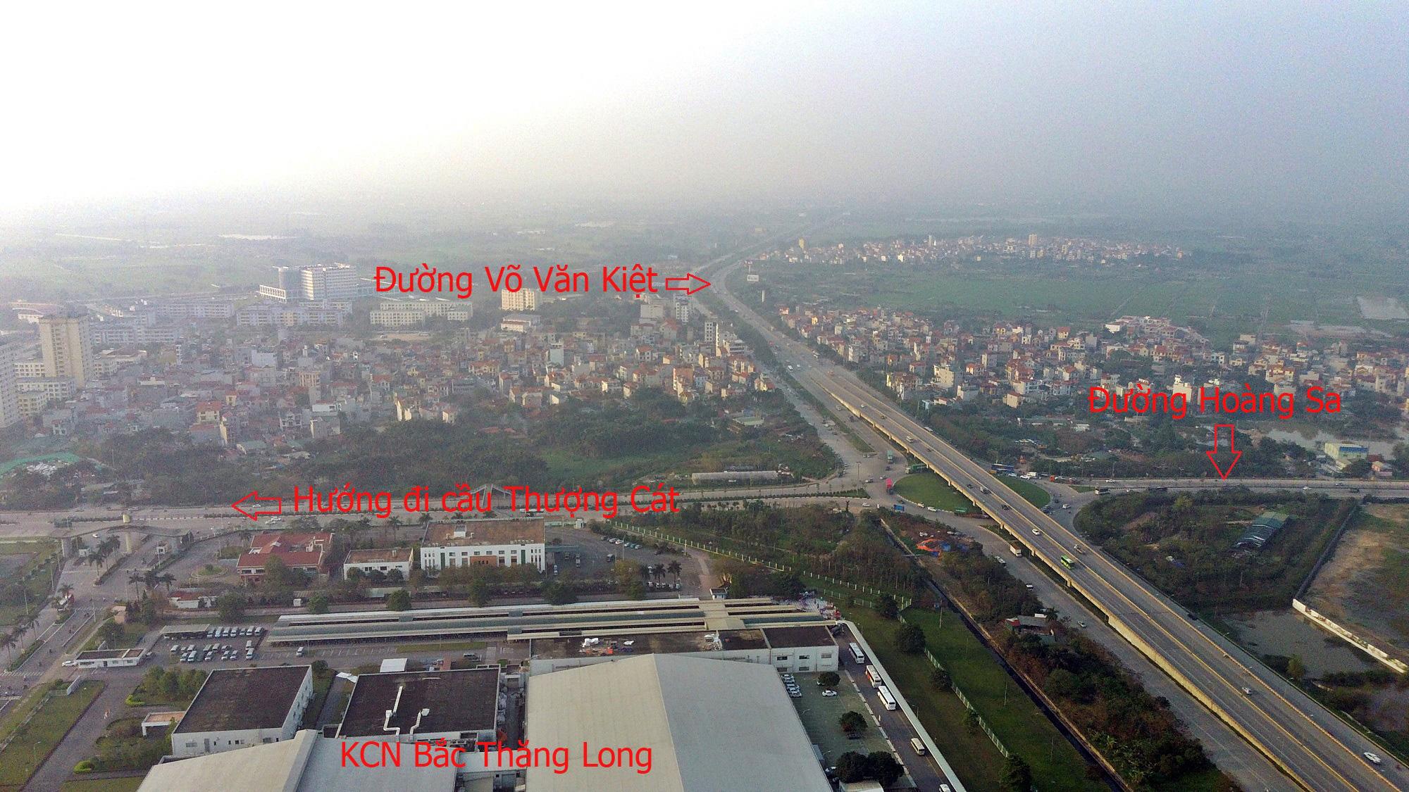 Cầu sẽ mở theo qui hoạch ở Hà Nội: Toàn cảnh cầu Thượng Cát nối Bắc Từ Liêm với Đông Anh - Ảnh 19.