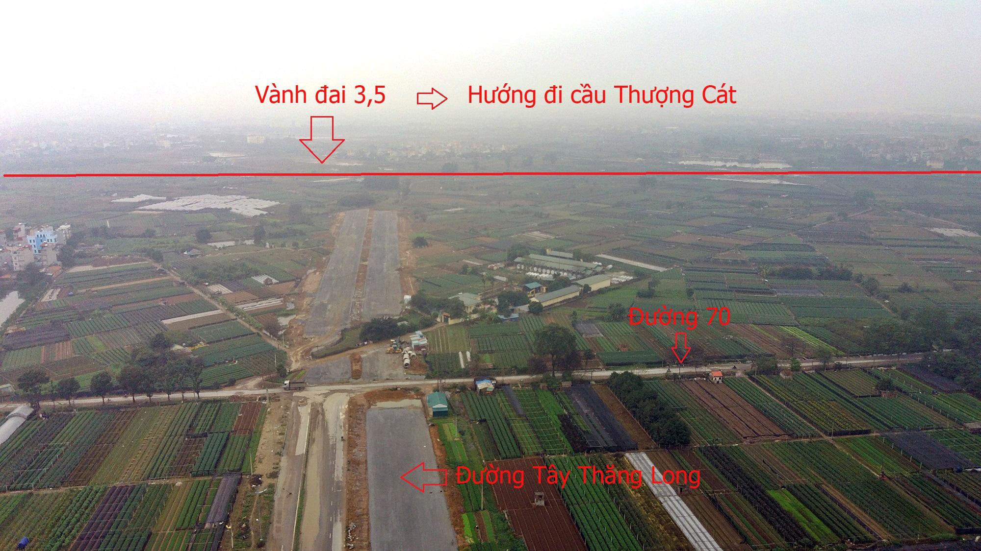 Cầu sẽ mở theo qui hoạch ở Hà Nội: Toàn cảnh cầu Thượng Cát nối Bắc Từ Liêm với Đông Anh - Ảnh 8.