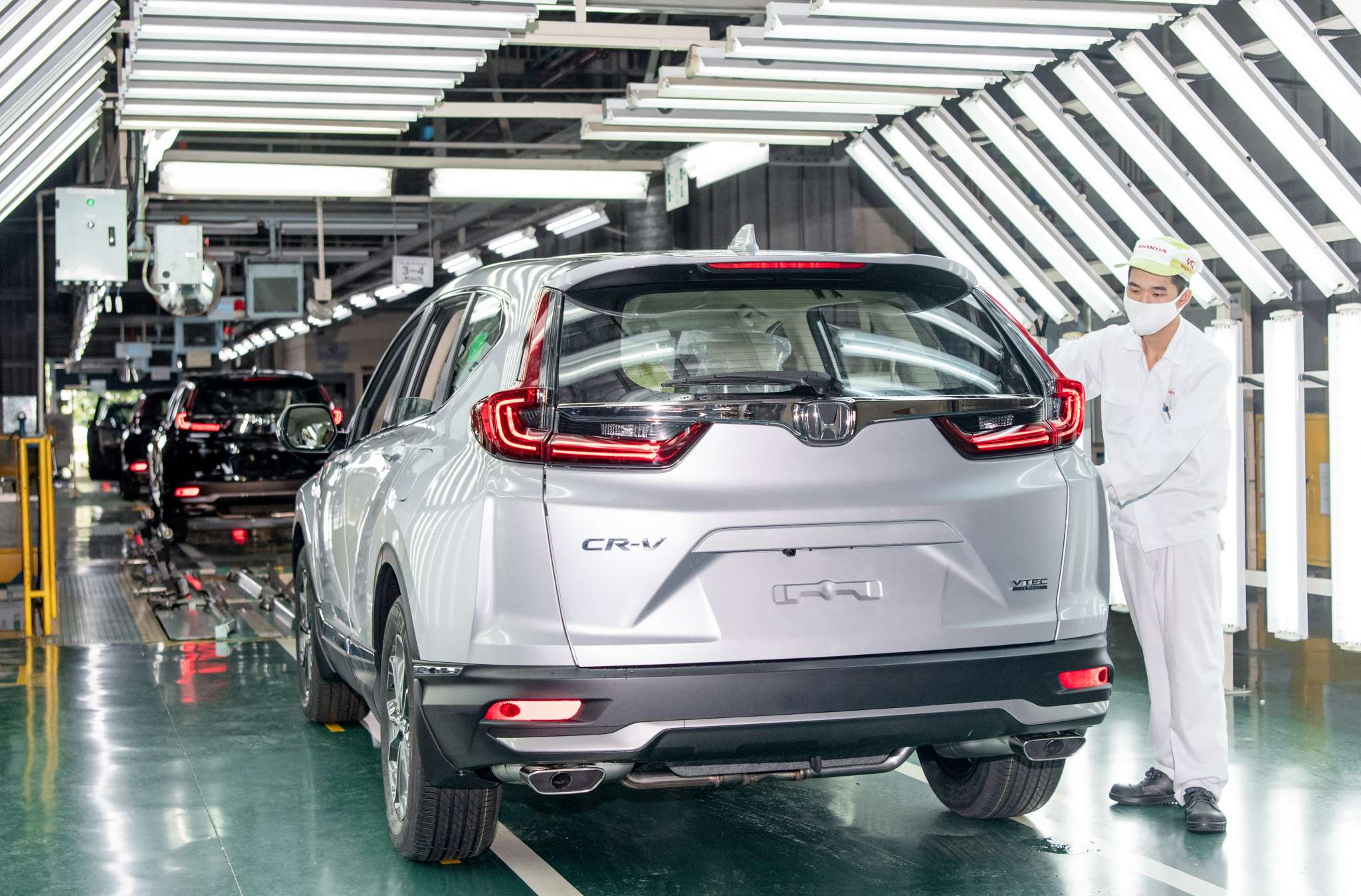 Honda CR-V 2020 chính thức được sản xuất tại Việt Nam - Ảnh 1.