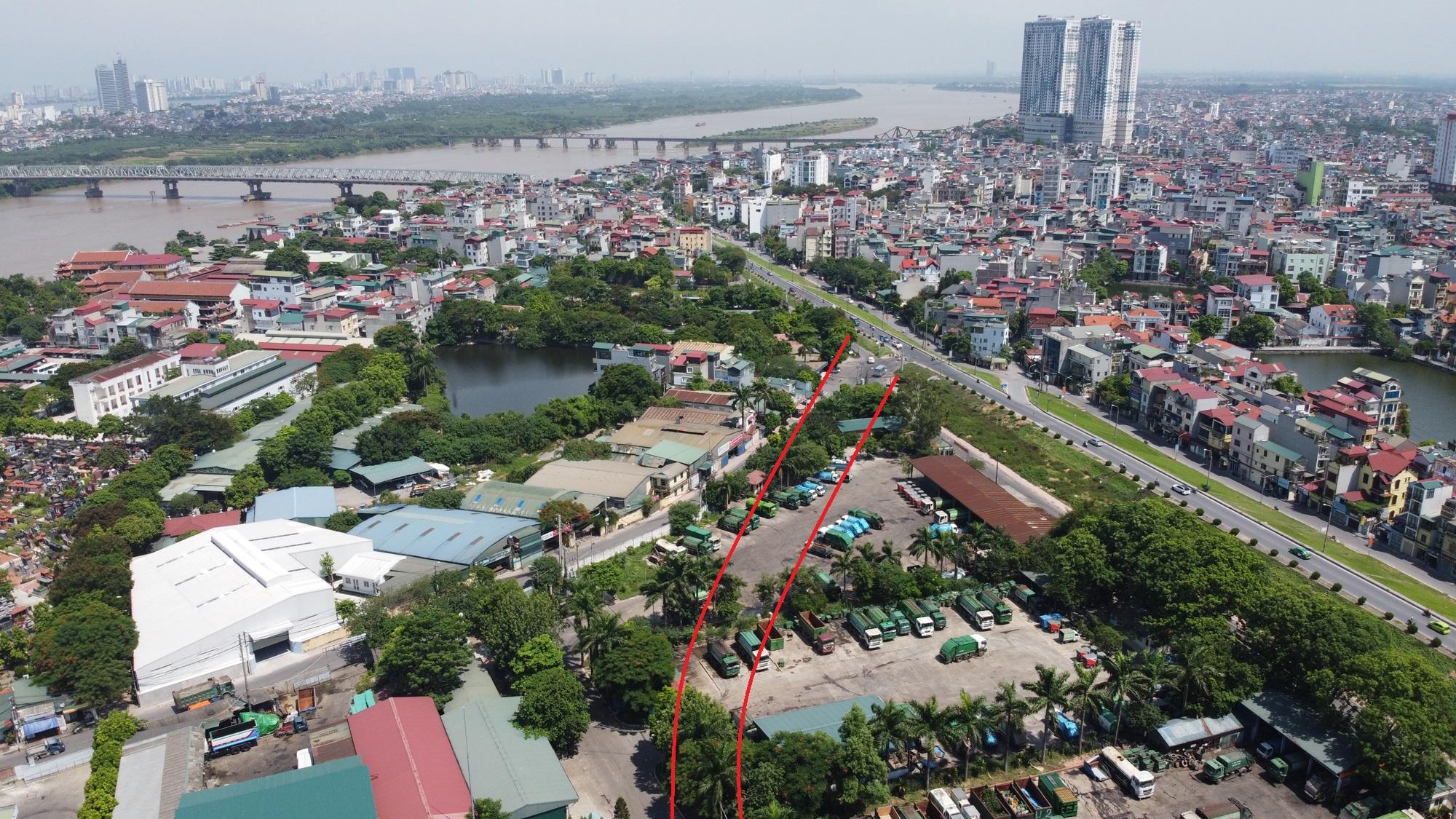 Hai đường sẽ mở theo qui hoạch ở phường Bồ Đề, Long Biên, Hà Nội - Ảnh 6.