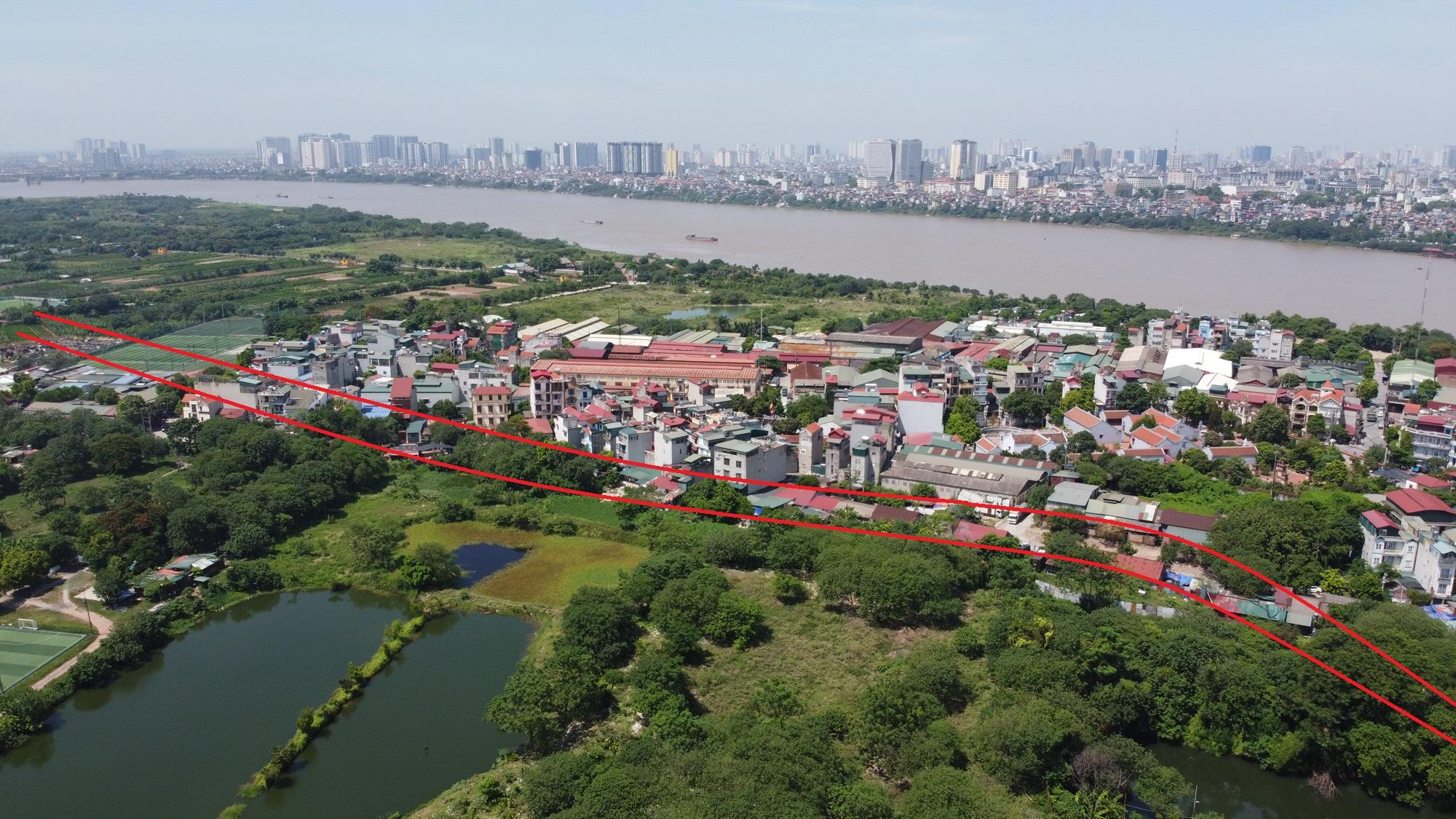 Hai đường sẽ mở theo qui hoạch ở phường Bồ Đề, Long Biên, Hà Nội - Ảnh 8.