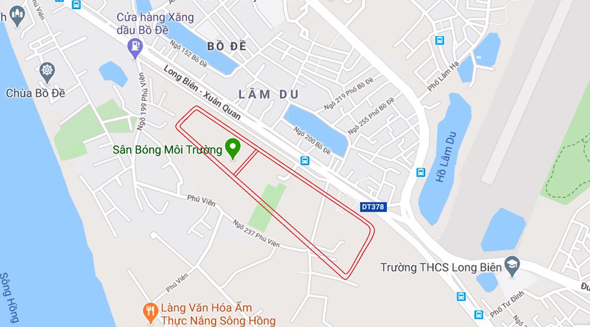 4 đường sẽ mở theo qui hoạch ở phường Bồ Đề, Long Biên, Hà Nội - Ảnh 11.